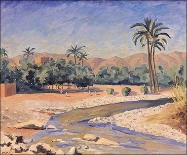 View of Tinherir by Winston Churchill.