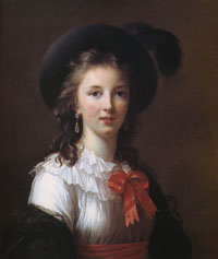 Self Portrait of Elizabeth Vigee-LeBrun